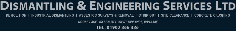 Dismantling & Engineering Services Ltd